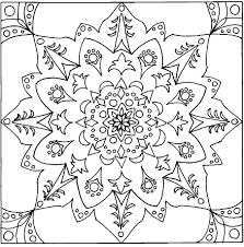 100 hexagon coloring page mandala coloring page steampunk lotus