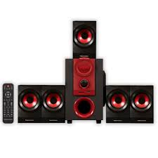 best compact home theater speakers amazon com theater solutions by goldwood 5 1 speaker system 5 1