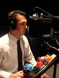 Roary The Racing Car Big Chris Flags It Up Sam Hornish Jr Gives His Voice A Spin On Show The Blade