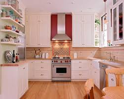 Red Kitchens With White Cabinets Red Kitchen Accents Houzz