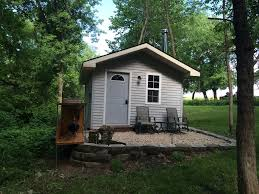Tiny Homes Minnesota by Heritage Hideaway Tiny House Lanesboro Minnesota Rentbyowner