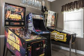 home arcade game room at the great escape lakeside