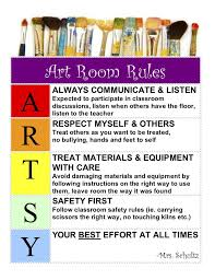 printable instructions classroom image result for verbs in the art room clil in art class