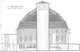 Round Barn Public House Menu File To Scale Cutaway U Of I Round Barn Jpg Wikimedia Commons