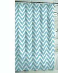 Home Classics Shower Curtain Home Classics Shower Curtain Cloth Fabric Blue Chevron 70 X