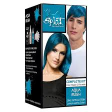 how to get splat hair dye out of hair splat hair bleach and color kit aqua rush 5 oz target