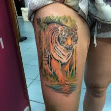 tiger in a jungle tattoo tigers pinterest like this one