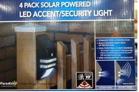 solar deck accent lights costco outdoor solar garden lights acres farm