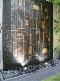 Copper Walls Best 25 Wall Water Features Ideas On Pinterest Water Walls