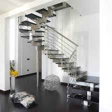 collection in stainless steel stairs design unique stainless steel
