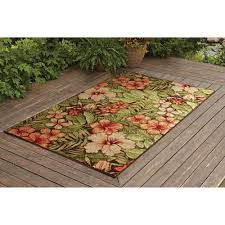 6 X 9 Outdoor Rug Better Homes And Gardens Tropical Outdoor Rug 6 X 9 Intended For