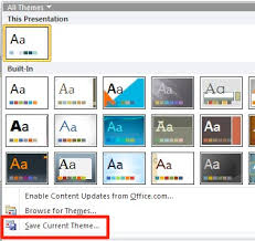 The Logical Blog By Iconlogic Powerpoint 2010 Changing The Default Theme Ppt 2010