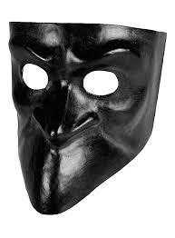 bauta mask bauta nera venetian mask maskworld