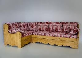 canapé convertible style montagne acheter votre canapé d angle avec couchage style montagne chez simeuble