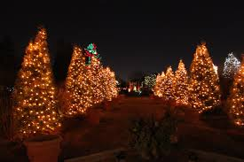 best places to see christmas lights in the us impressive magazine
