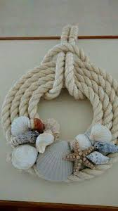 Christmas Wreaths Decorated With Seashells by 20 Unique Decor Ideas Make Difference Using Diy Seashells Twine