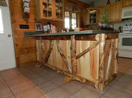 Log Home Kitchen Cabinets - rustic kitchen cabinets for log homes u2014 alert interior rustics