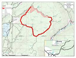 Burns Oregon Map Firefighters Ending Controlled Burns At Long Draw