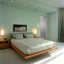 modern green bedroom home design