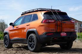 jeep gobi color gobi roof racks jeep cherokee kl stealth rack rear ladder low
