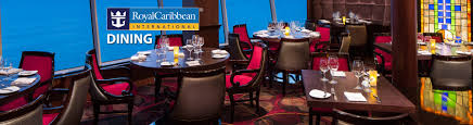 royal caribbean onboard dining dining options for royal