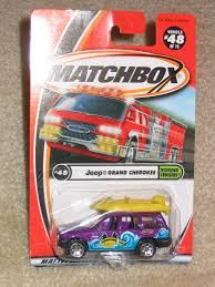 matchbox jeep grand cherokee jeep collection