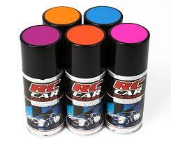 rc car colours fluo yellow 150 ml spray paint