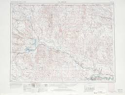 United States Topographical Map by Glasgow Topographic Map Sheet United States 1966 Full Size