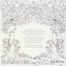 enchanted forest an inky quest and colouring book amazon co uk