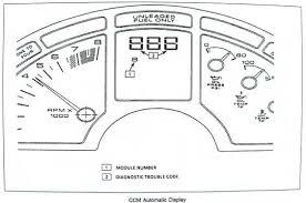 1992 corvette ecm c4 corvette diagnostic code recovery techniques