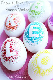 how to decorate easter eggs decorate easter eggs with sharpie markers artzycreations com