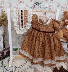 buy clothes for dolls boho shabby chic for vasilina beige