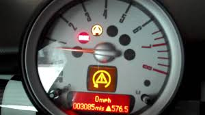 mini cooper dsc on or setting