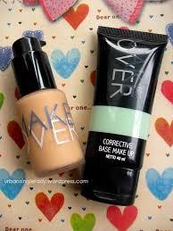 Corrective Base Makeup Makeover review make corrective base make up greenish ultra cover