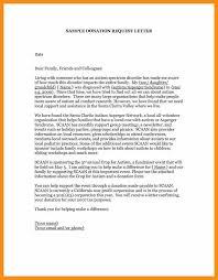 fundraising letter fundraising letter sample and setting