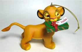 simba with gift for nala ornament grolier from our