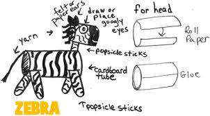 zebra tissue paper zebra crafts for kids arts and crafts zebras projects with