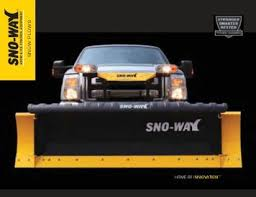 hiniker 700 manual snow plow stuff