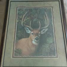 home interior deer pictures home interior other home interior deer picture poshmark