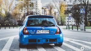 renault blue renault clio v6 phase ii 8 november 2016 autogespot