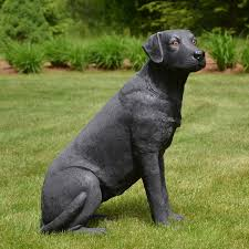 black lab garden statues garden ftempo