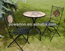 Mosaic Patio Furniture by Mosaic Patio Garden Outdoor Furniture Cast Iron Table Folding