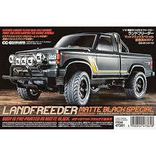 jeep truck black tamiya 1 10 landfreeder matte black special truck kit