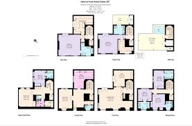 Harrods Floor Plan 6 Bedroom Terraced House For Sale In Rutland Gardens