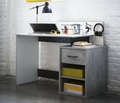 bureau gris blanc bureau gris blanc oracle bureau multimedia 140cm blanc et gris