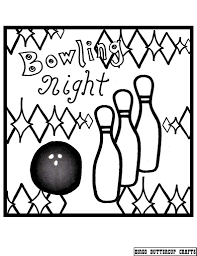bowling coloring pages getcoloringpages com