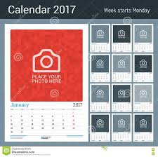 monthly calendar planner template calendar template for 2017 year set of 12 months business wall monthly calendar planner for 2017 year 12 months vector design print template with