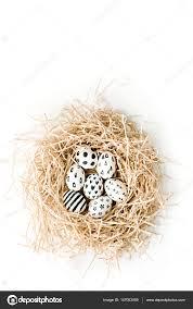 fancy easter eggs fancy easter eggs stock photo maximleshkovich 147053059
