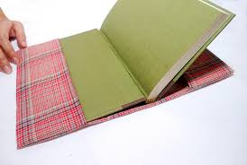 how to sew a fabric book cover 9 steps with pictures wikihow