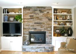 White Built In Bookcases by Built In Bookshelves Around Tv U2013 Appalachianstorm Com